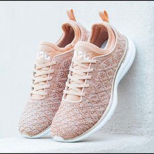 NWOT APL propelium sneakers size 10 pink